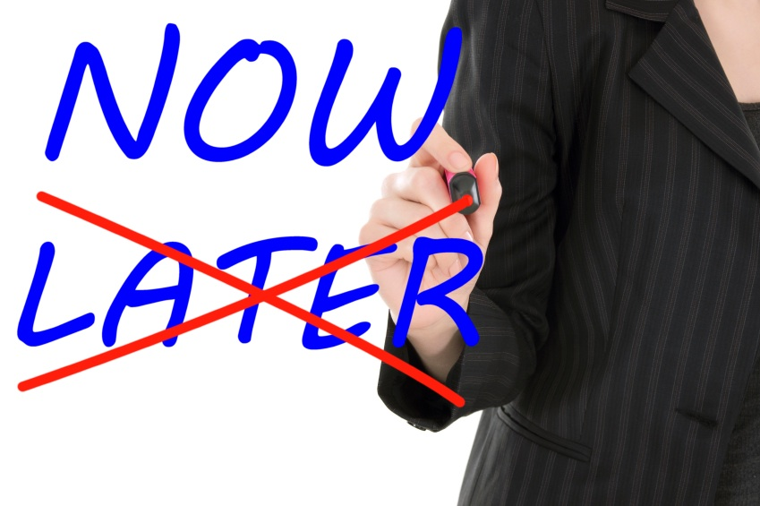 now later, life coaching, by healthista.com